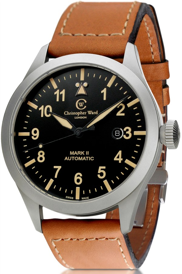 Show You The Christopher Ward C8 Pilot Mark II Vintage Men Watch