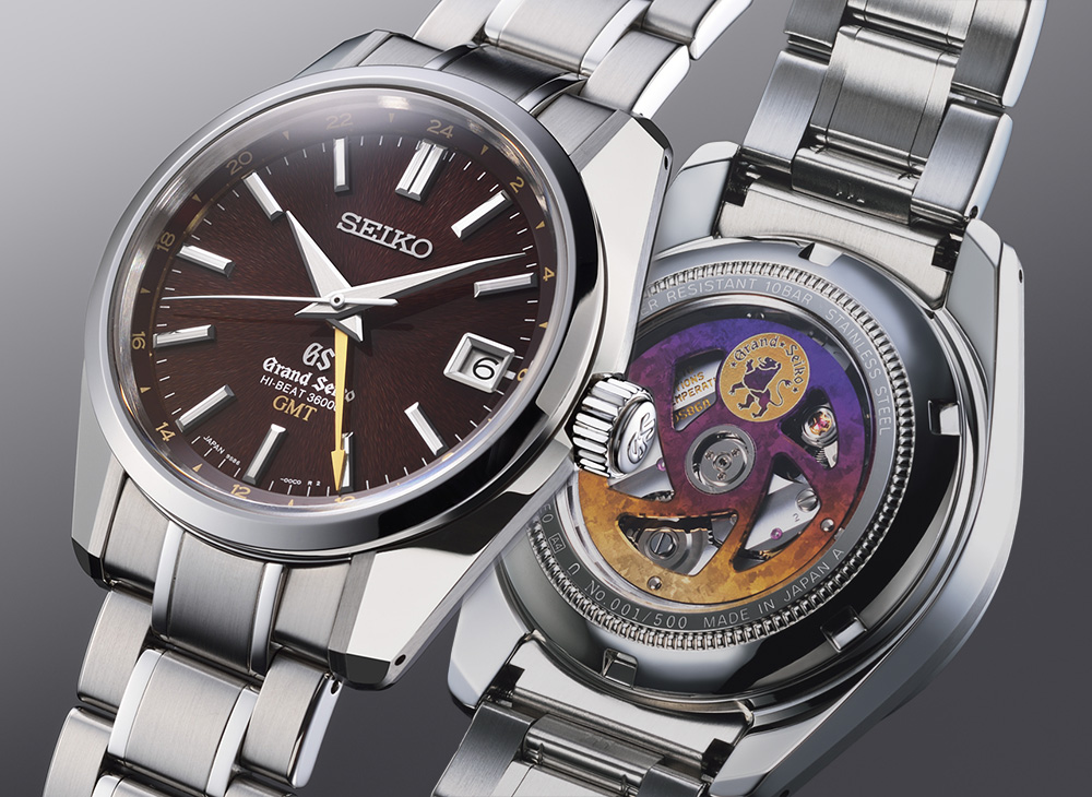 Limited Edition Watch Series:Grand Seiko Hi-Beat 36000 GMT Mens Watch