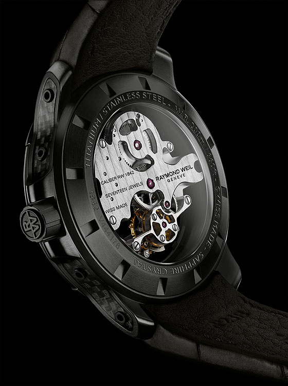 Raymond Weil Nabucco Cello Tourbillon - back