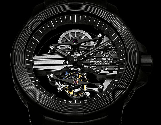 Raymond Weil Nabucco Cello Tourbillon - dial CU