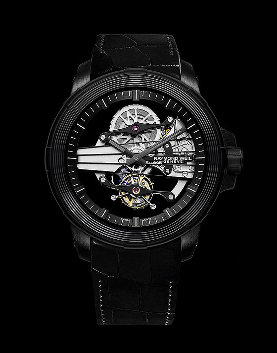 Raymond Weil Nabucco Cello Tourbillon - front
