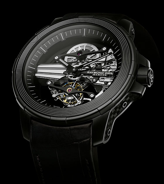Raymond Weil Nabucco Cello Tourbillon - angle