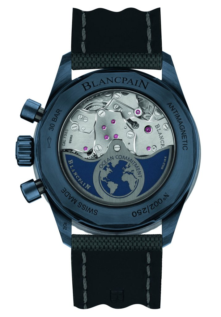 Presenting The New Blancpain Bathyscaphe Flyback Chronograph Ocean Commitment Ii Watch