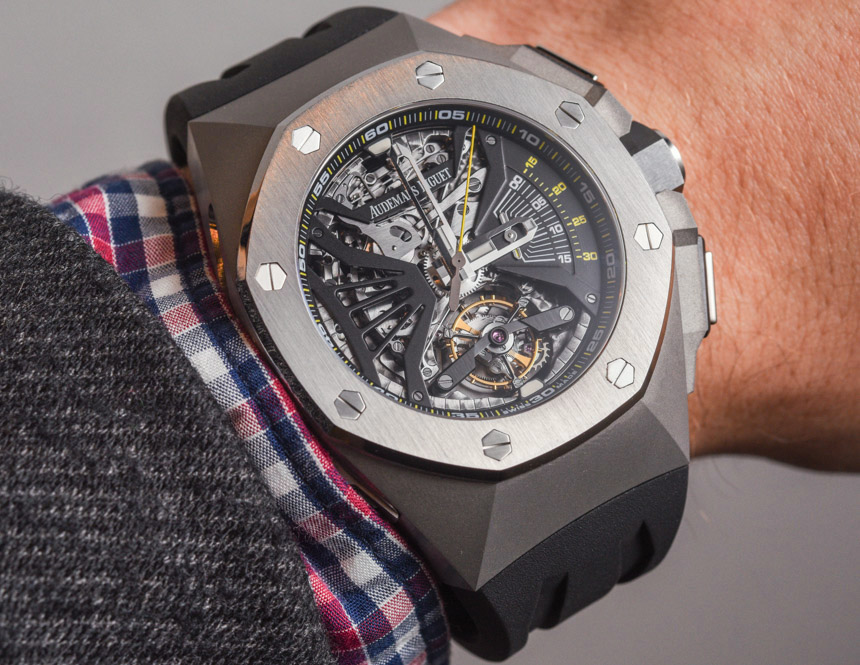 Audemars Piguet Royal Oak Concept Supersonnerie Tourbillon Chronograph Watch