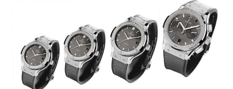 "Introducing The Hublot Classic Fusion ""Racing Grey"" Collection"