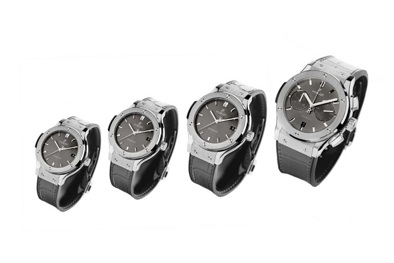 """Introducing The Hublot Classic Fusion """"Racing Grey"""" Collection"""