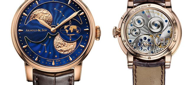 Arnold & Son HM Double Hemisphere Perpetual Moon Watch