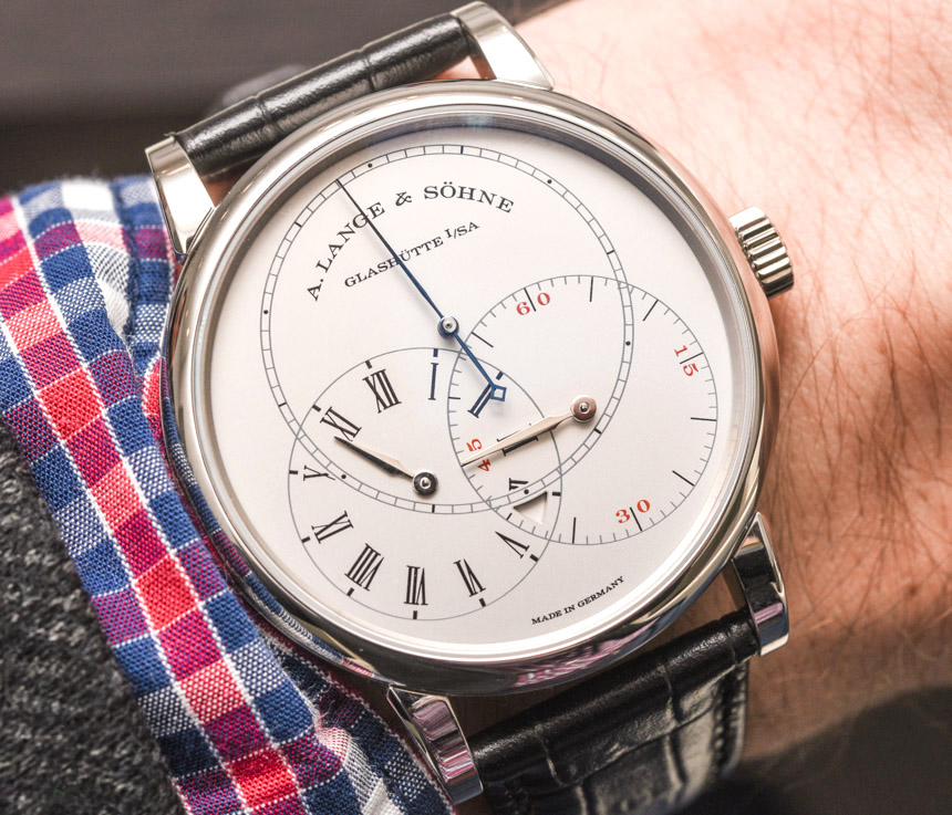 Let Us Review A. Lange & Söhne Richard Lange Jumping Seconds Watch