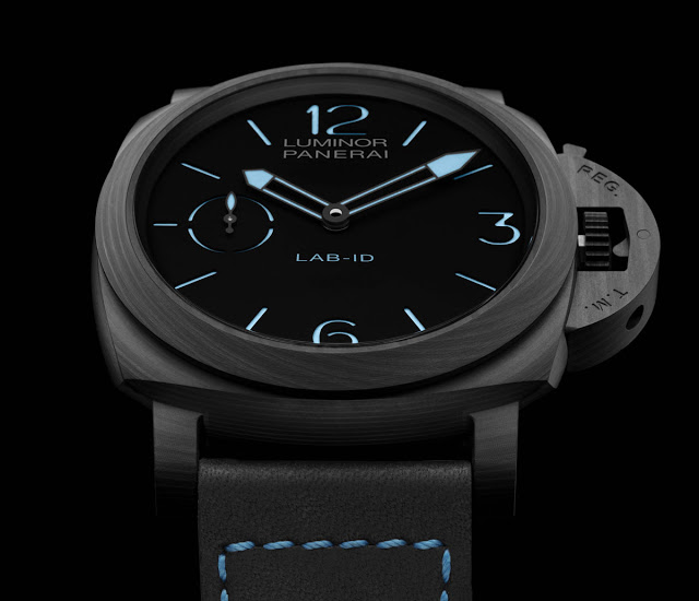 SIHH 2017: Panerai LAB-ID Luminor 1950 Carbotech PAM700 al polso