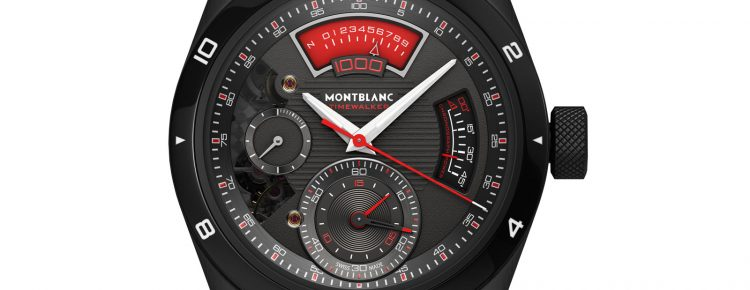 A Luxurious Version Of Montblanc TimeWalker Chronograph 1000 Limited Edition Watches