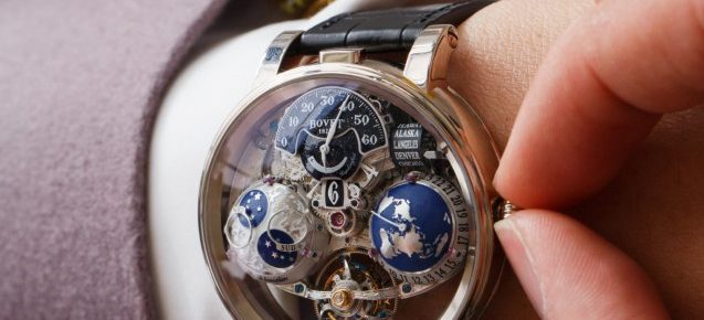 On the Wrist:Bovet Recital 18 Shooting Star and Pininfarina OttantaSei Tourbillon