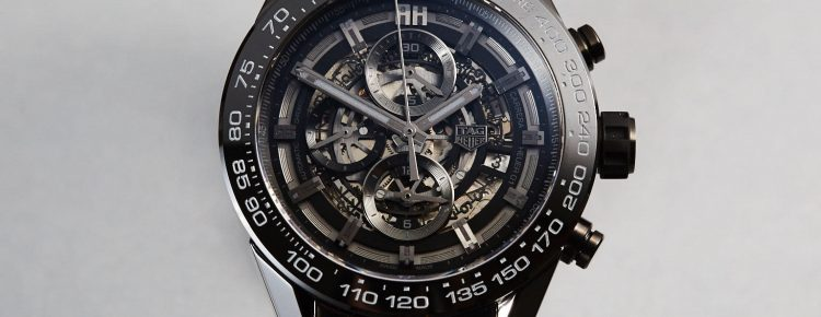 Limited Edition Watch Series:TAG Heuer Carrera Heuer-01 Black Ceramic With 45mm Case Watch