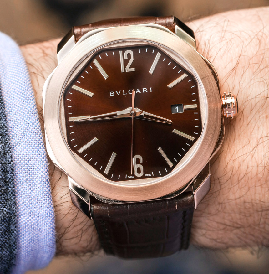 Presenting The New 2017 Bulgari Octo Roma With 41mm Case Men's Watch