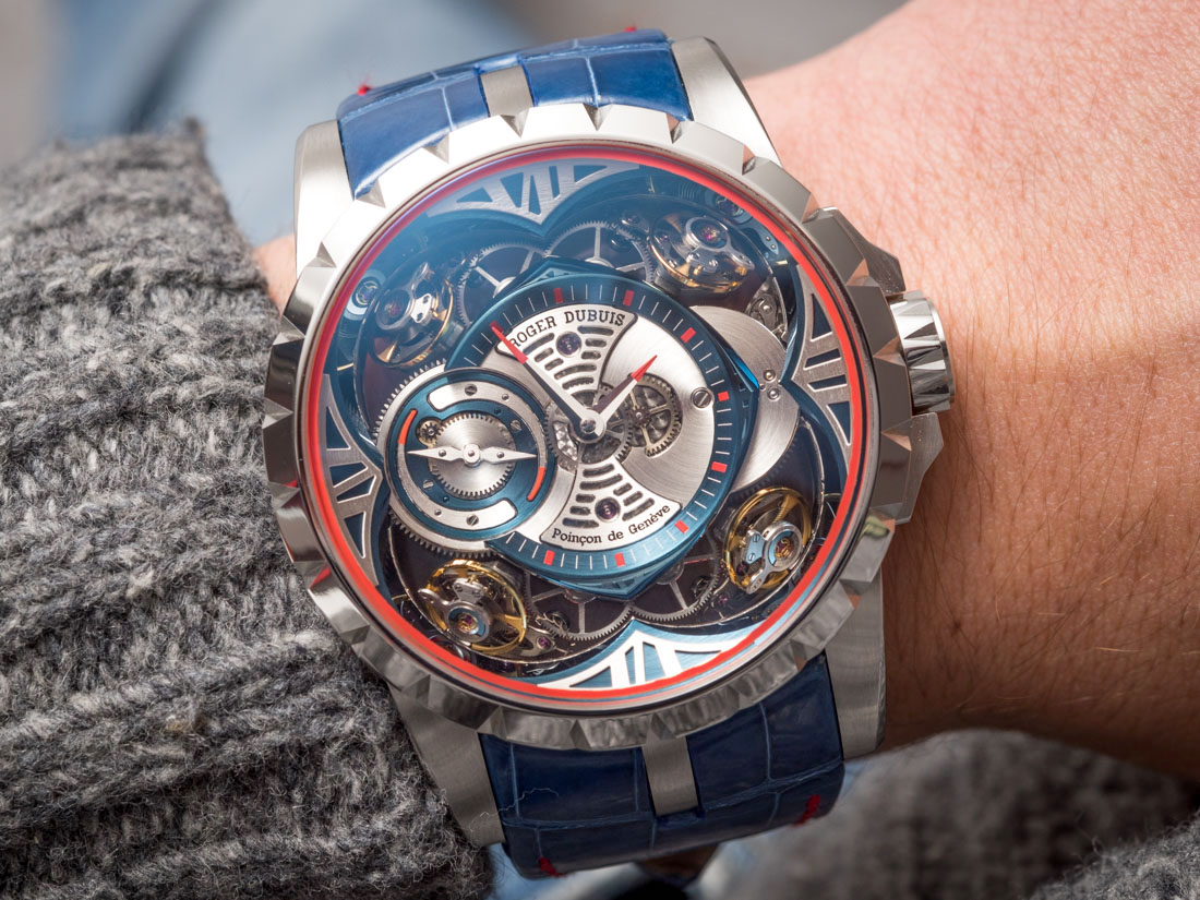 Take A Look At The Roger Dubuis Excalibur Quatuor Cobalt MicroMelt Watch