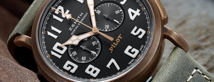 Hands-On With Zenith Heritage Pilot Extra Special Chronograph Watch