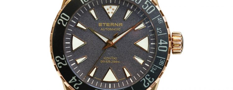 Limited Edition Watch Series:Eterna KonTiki Bronze Manufacture Men's Watch