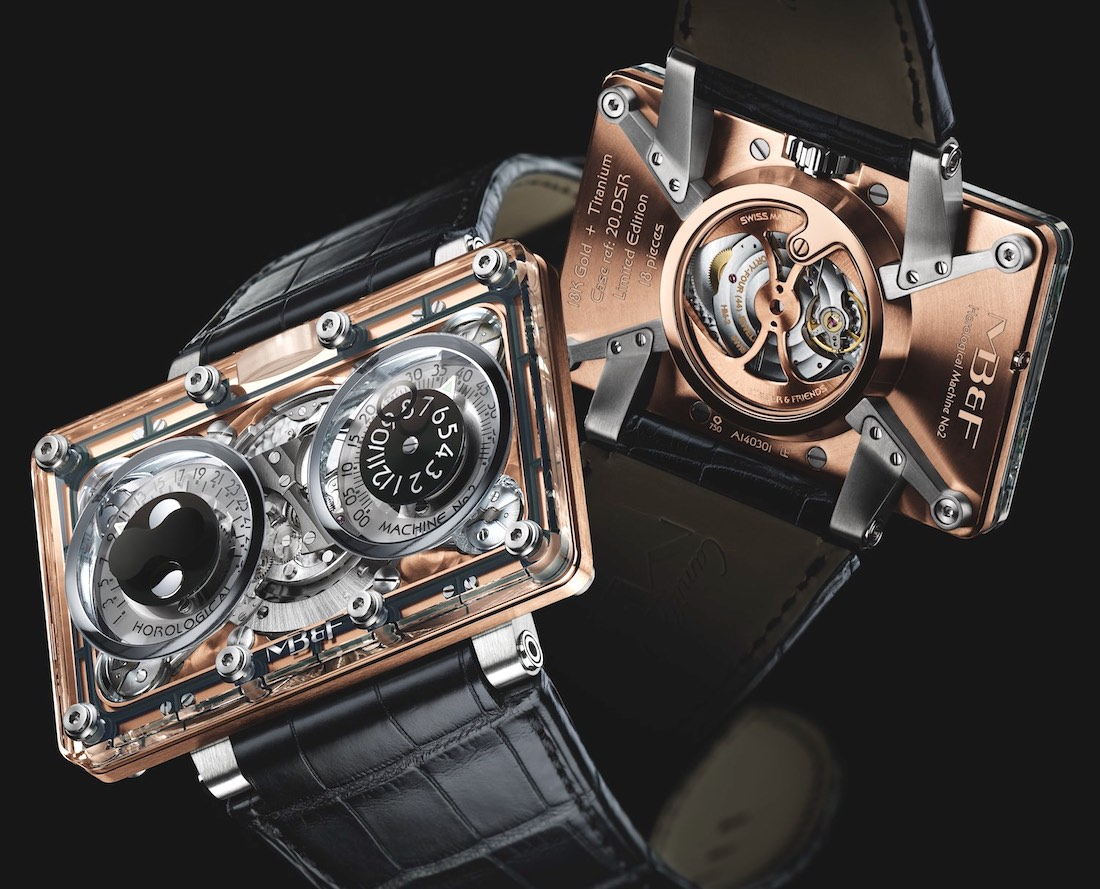A Complete Guidebook On MB&F HM6 SV 'Sapphire Vision' Watch