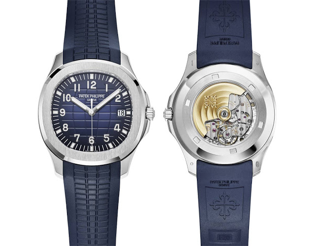 Take A Look At The Patek Philippe Aquanaut Ref. 5168G Men's Watches