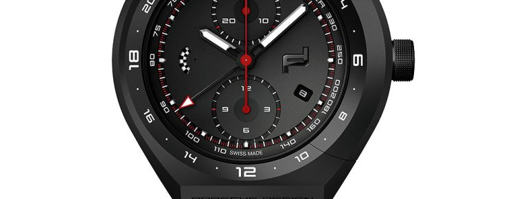 Porsche Design Monobloc Actuator GMT-Chronotimer Racing Chronograph Watch