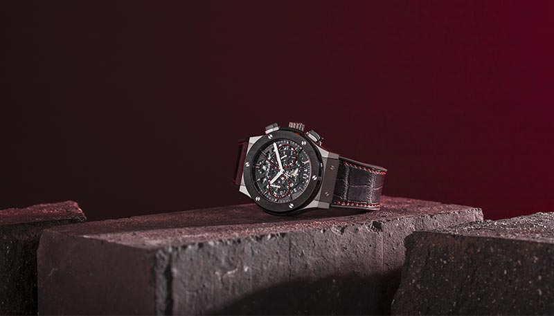 Hublot And The Watch Gallery Classic Fusion Aerofusion Chronograph Red