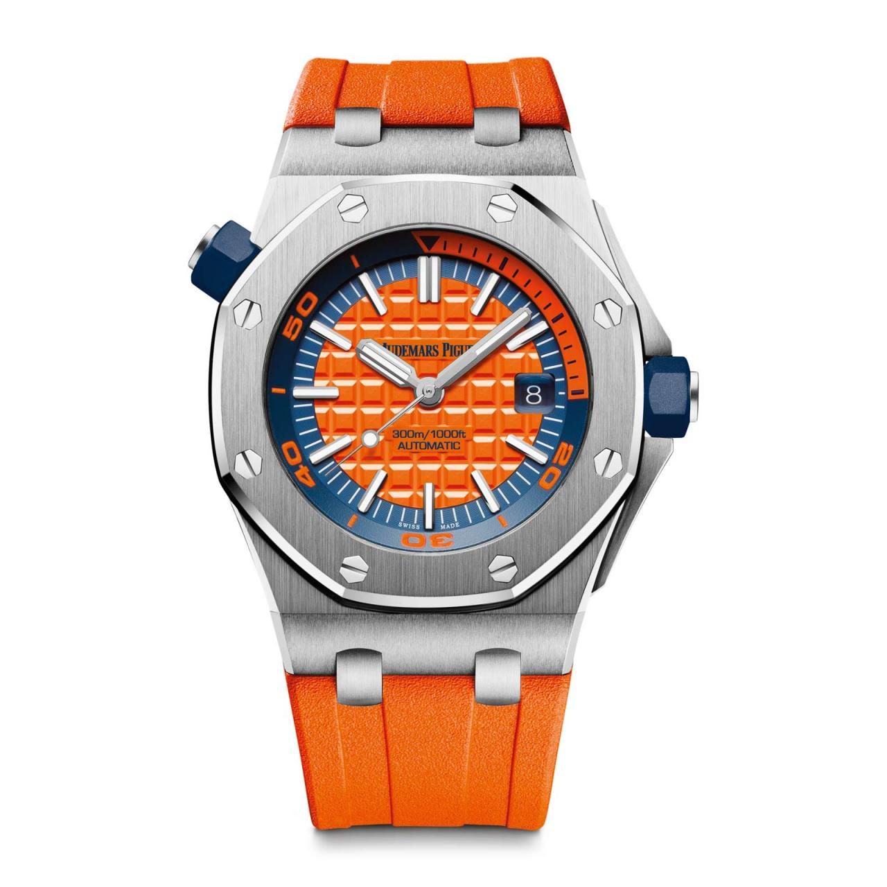 3 hot orange watches for a balmy summer