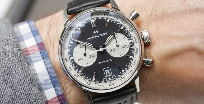 Hamilton Intra-Matic 68 Watch Hands-On