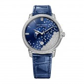 Harry Winston Midnight Diamond Drops 39mm