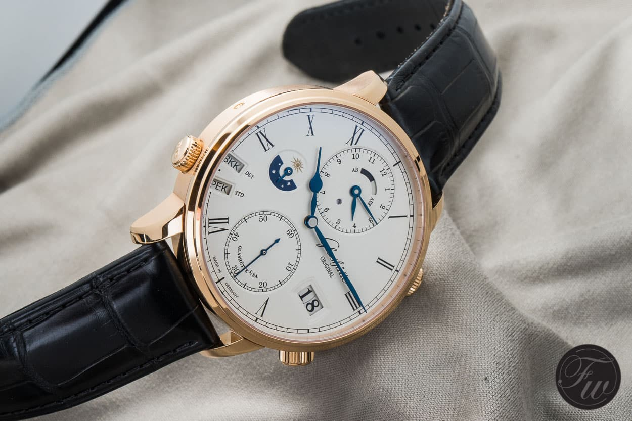 Glashütte Original Senator Cosmopolite World Traveller