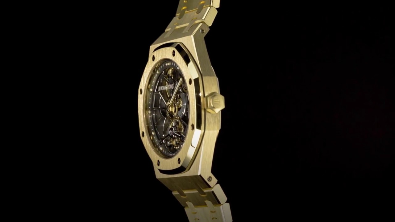 582b4fdd2e6 Audemars Piguet - Royal Oak Tourbillon Extra-Thin Openworked - Swiss ...